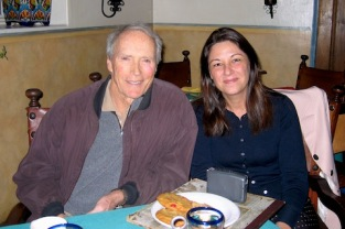Com Clint Eastwood em 2007