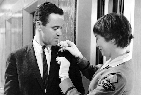 jack lemmon & shirley maclaine - the apartment 1960