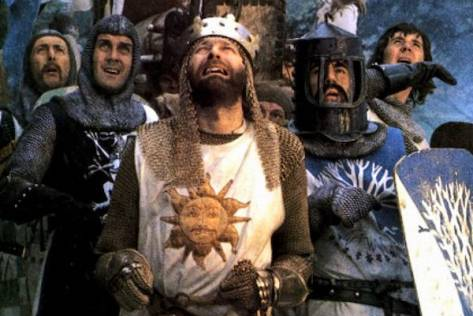 (Monty Python and the Holy Grail, 1975)