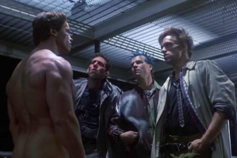 (The Terminator, 1984, e Terminator 2: Judgement Day, 1991)