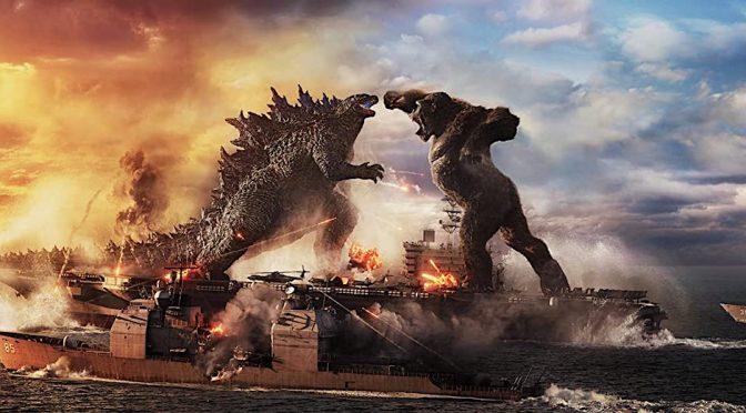 """Em """"Godzilla vs. Kong"""", tudo é enorme – menos a inspiração"""